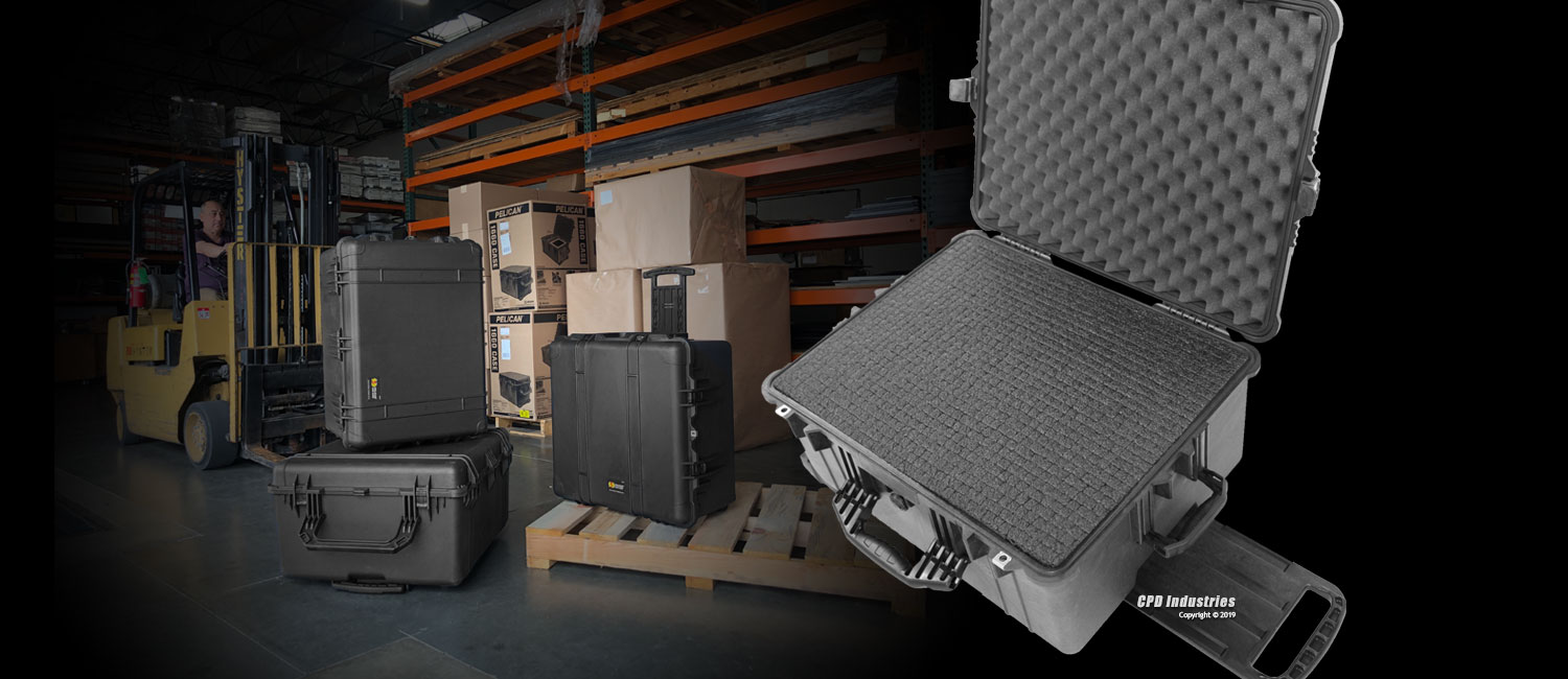 Pelican Cases - Shipping and Carrying Solutions